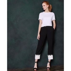 Ted Baker London Fancisa Tapered Lace Cuff Pants